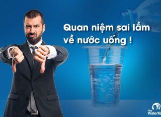 Sai lầm khi uống nước